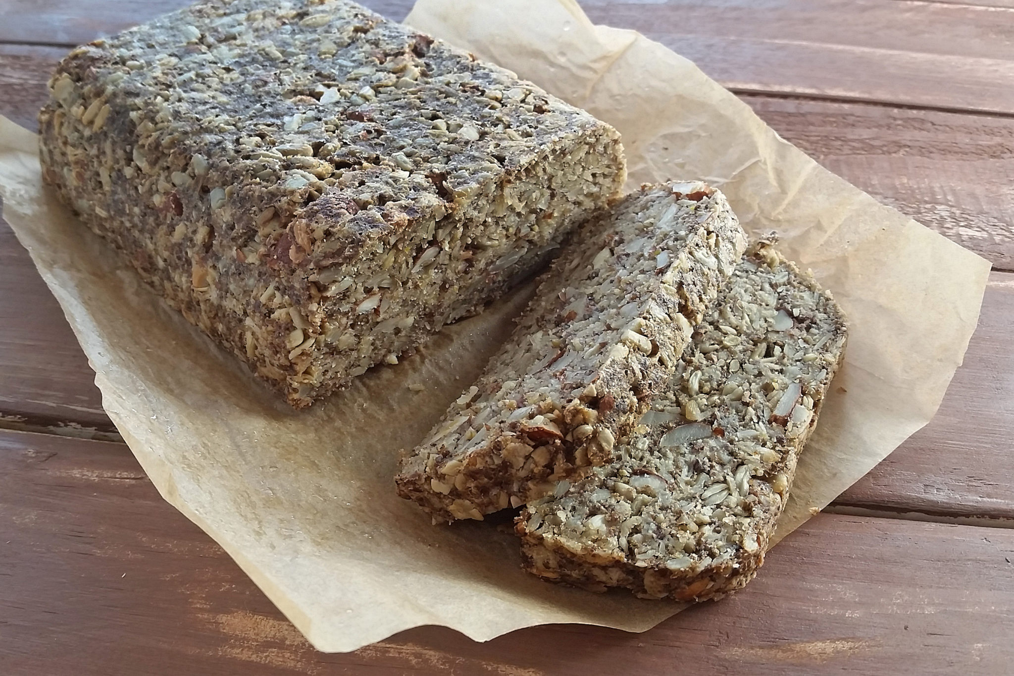 RECIPE: Nut & Seed Bread [Gluten-Free]