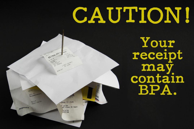 CAUTION: Beware of your Receipt