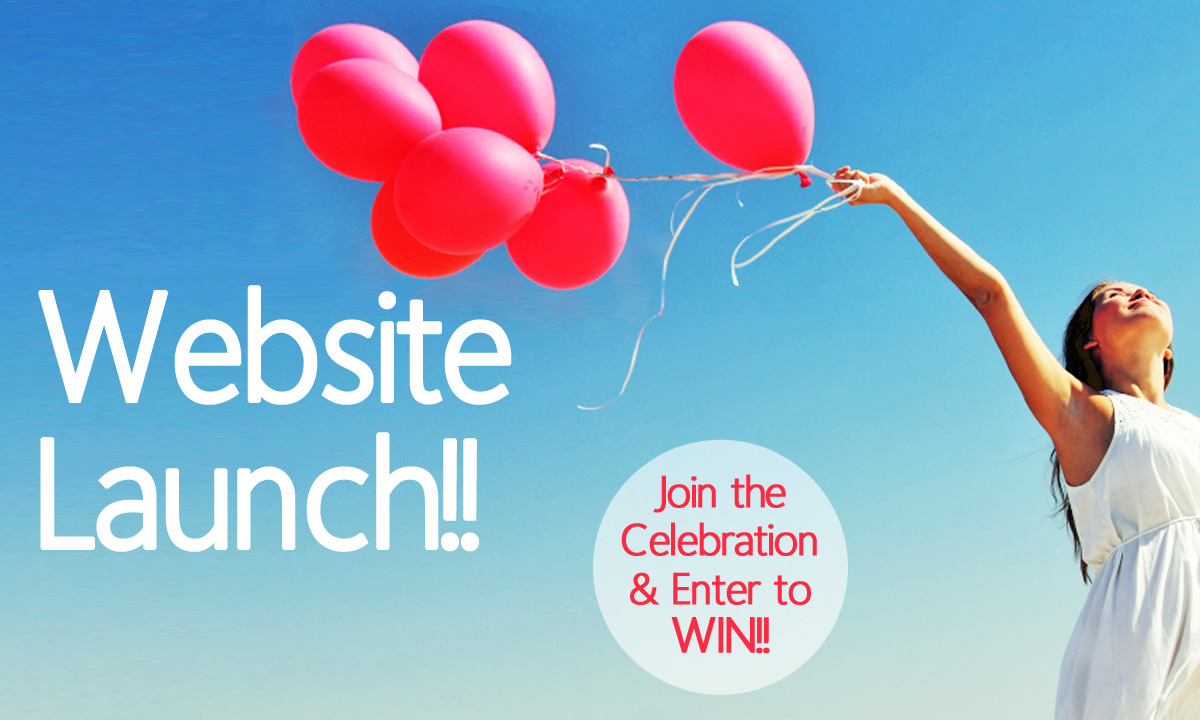 Official Website Launch and Celebration Raffle!