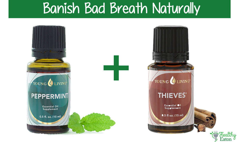 young living essential oils peppermint and thieves