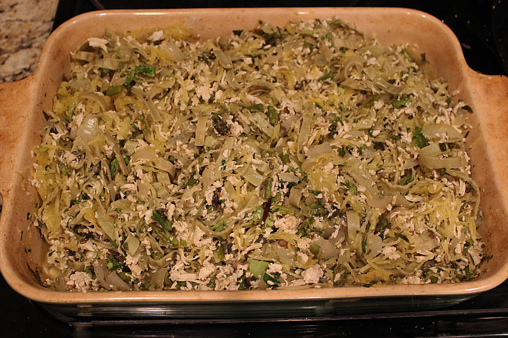Recipe: Roasted Spaghetti Squash with Herbs - Healthy Eaton | Healthy ...