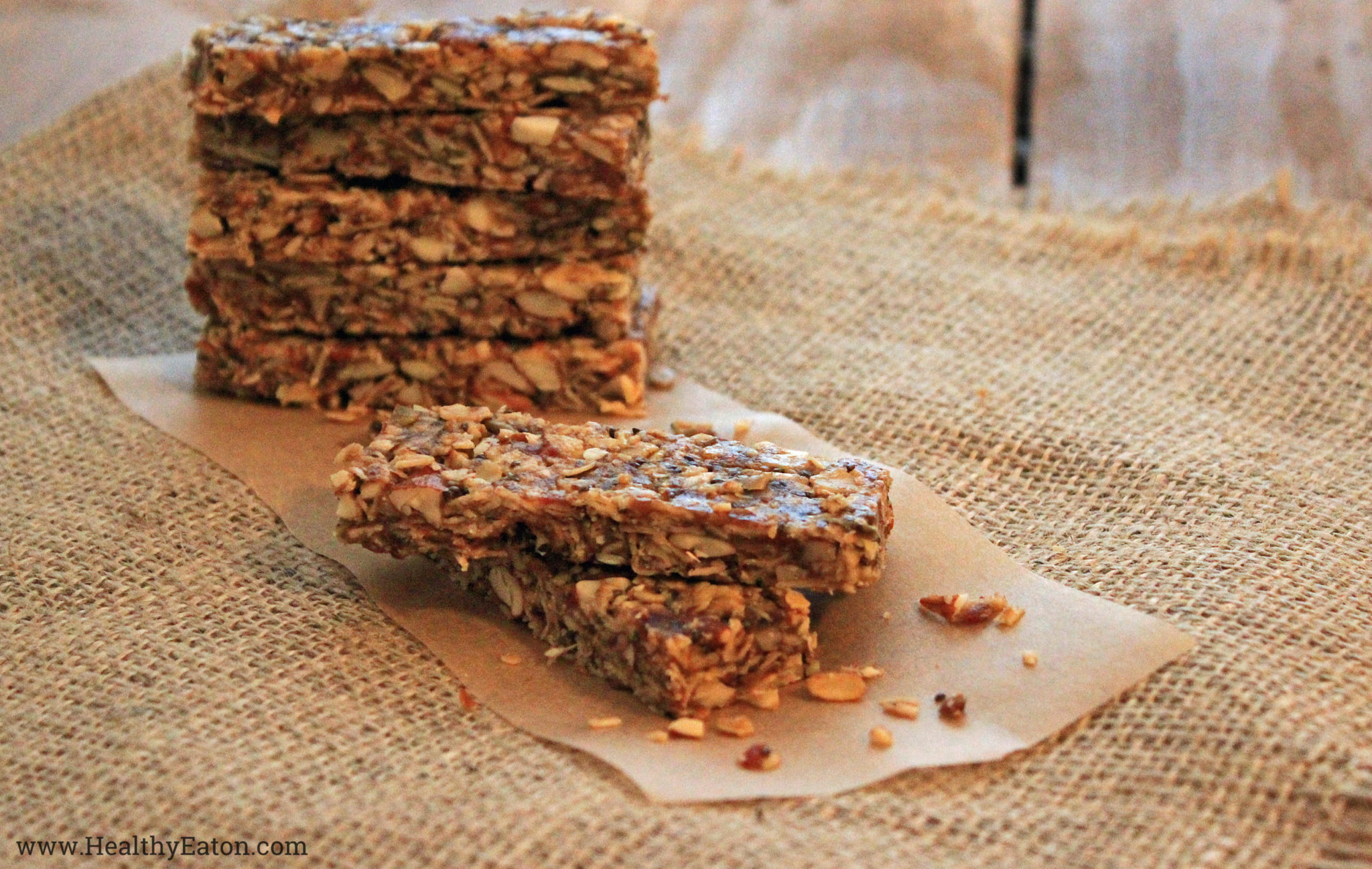 RECIPE: Superfood Granola Bars