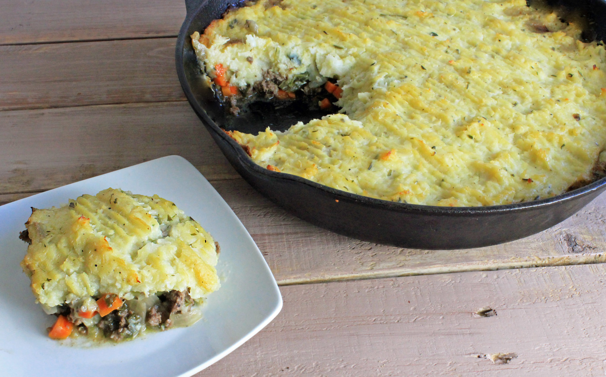 super healthy shepherd's pie