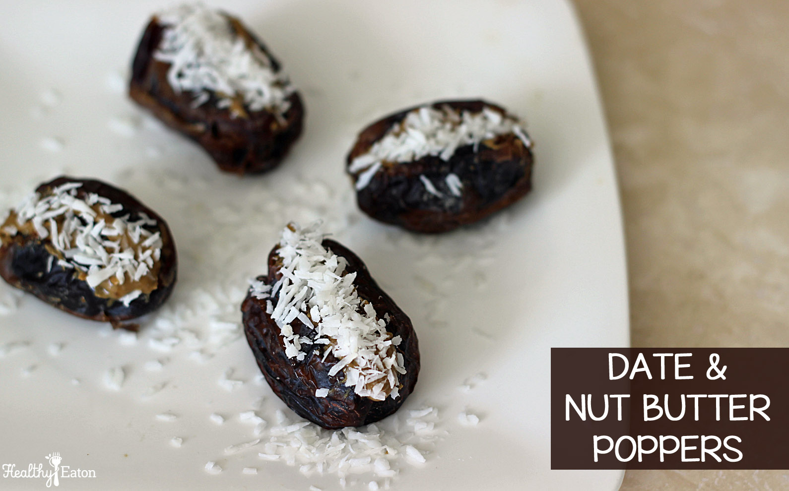 date and nut butter poppers