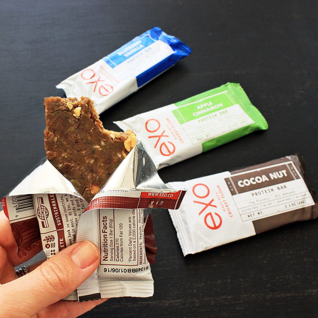 Product Review Exo Cricket Protein Bars
