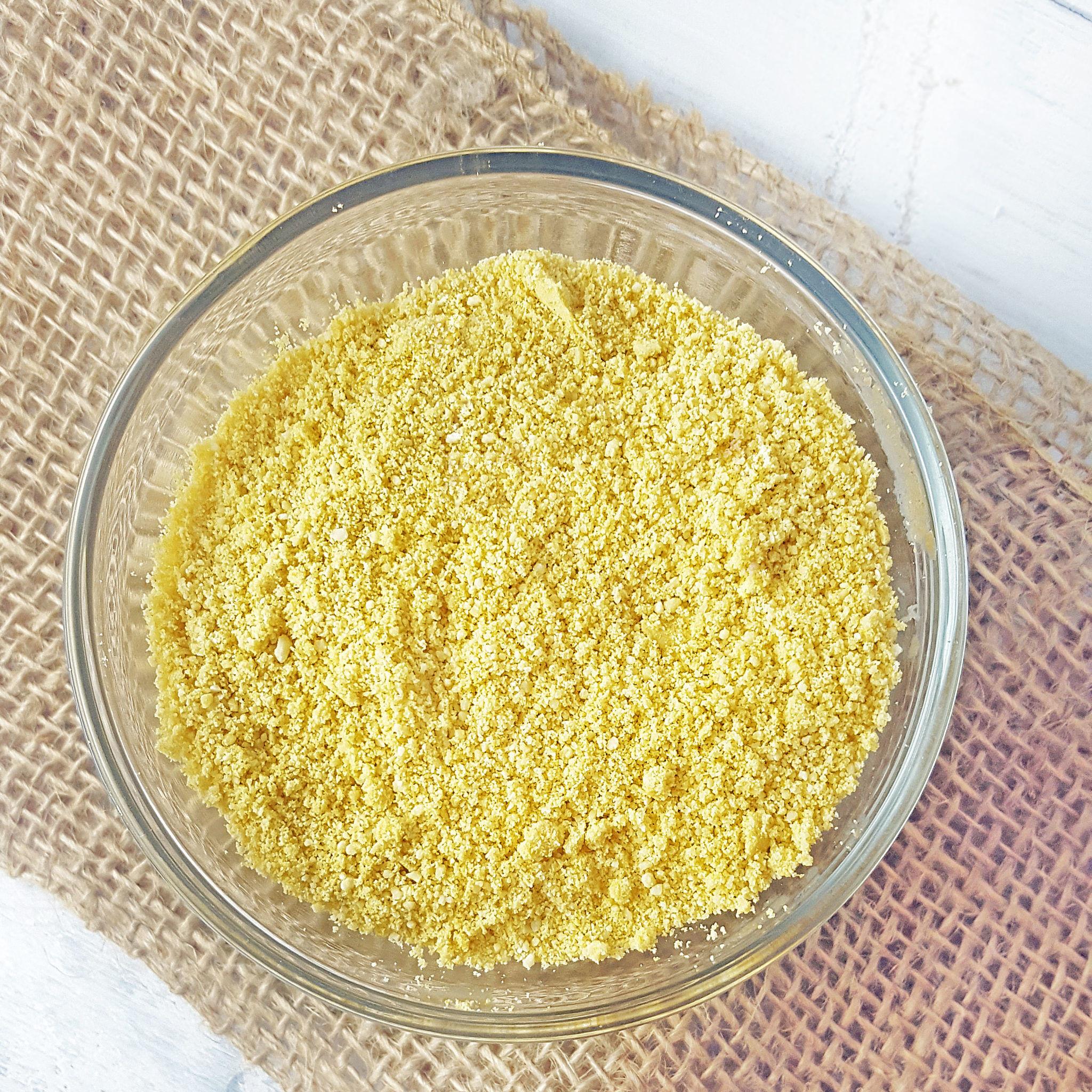vegan Parmesan Cheese recipe (3 ingredients!)