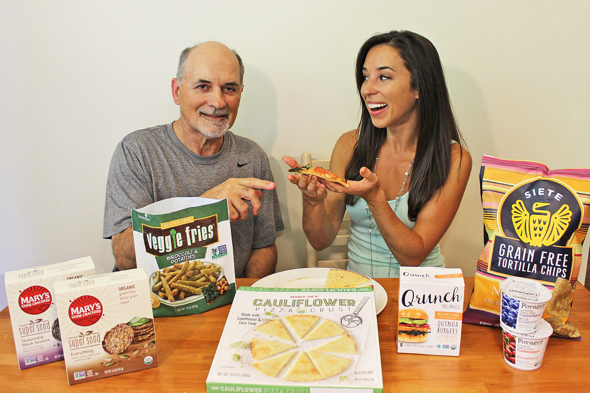 Healthy Food Taste Test with My Dad | Father's Day Special