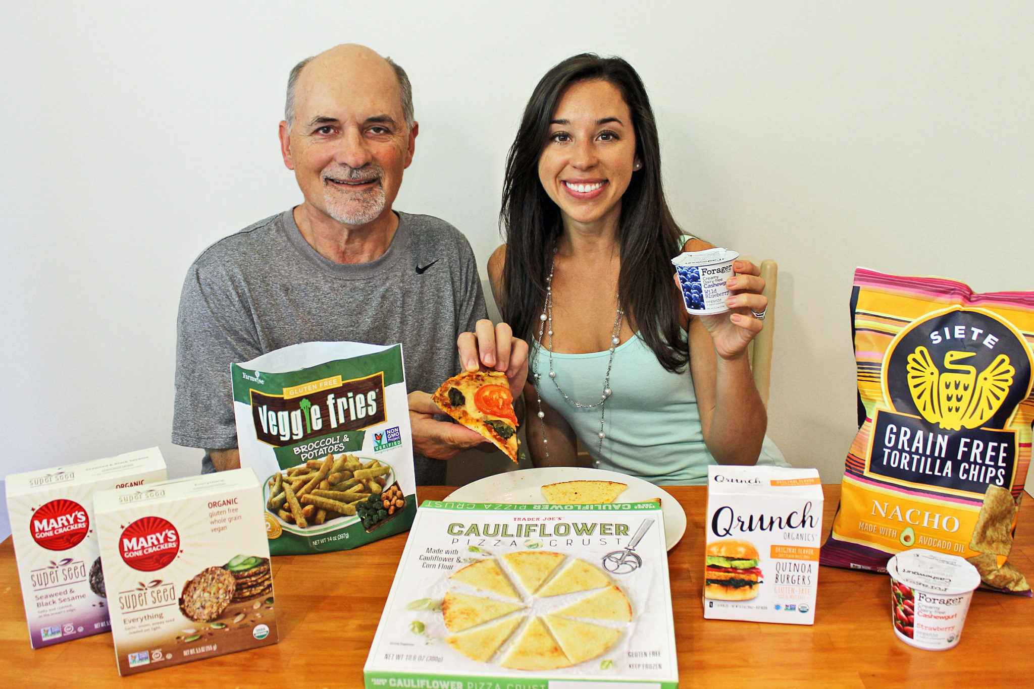Healthy Food Taste Test with My Dad - Father's Day Special
