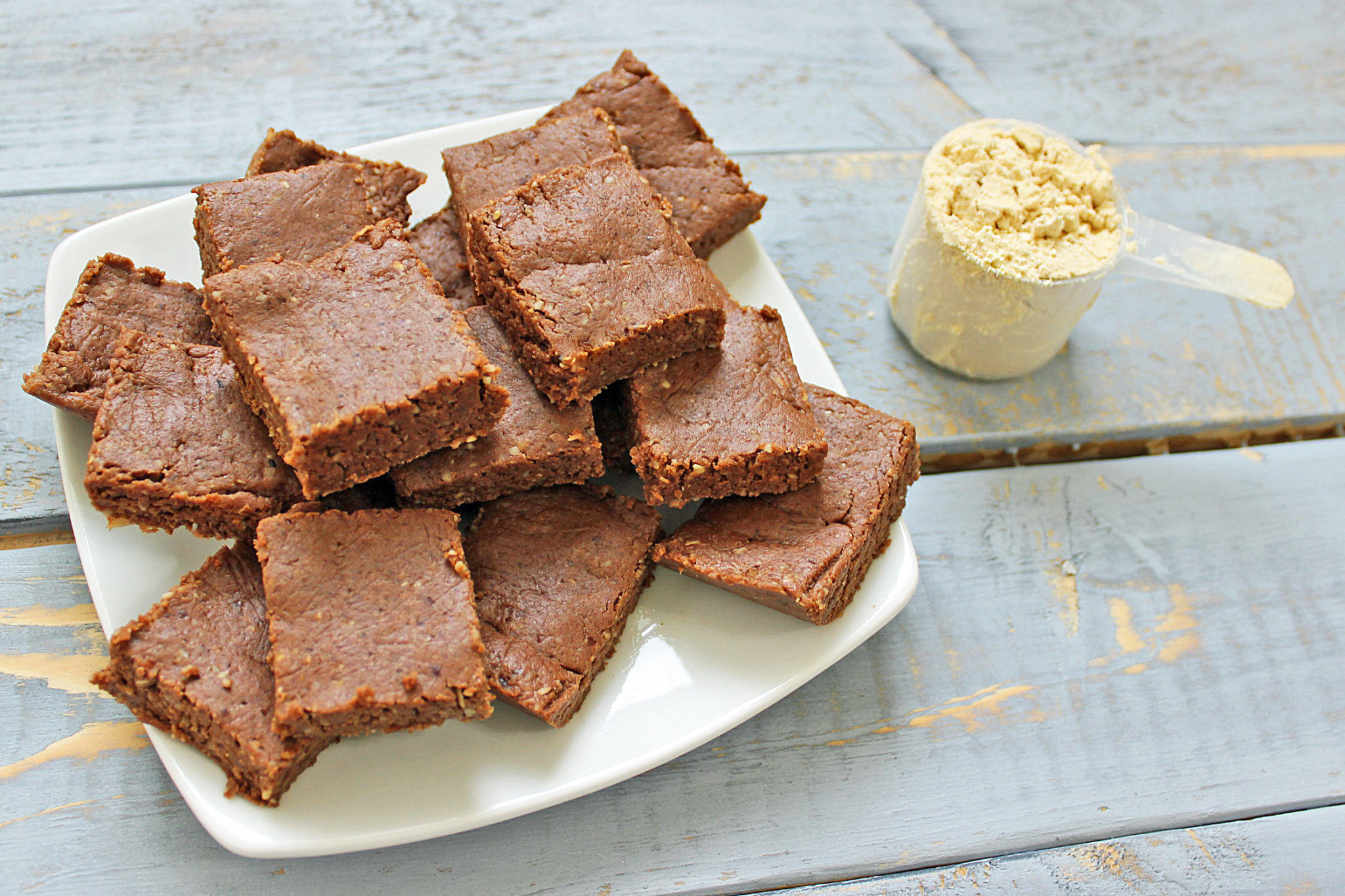 Raw Protein Brownies Recipe