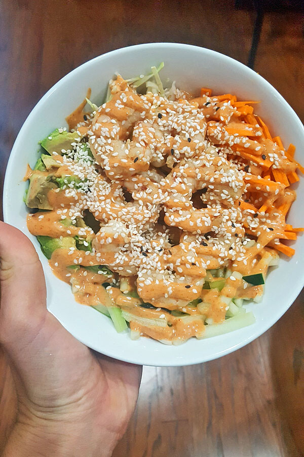 spicy tuna poke bowl recipe