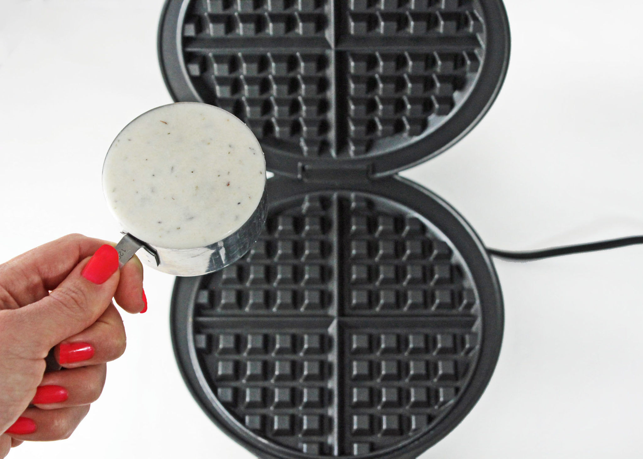 savory waffle recipe