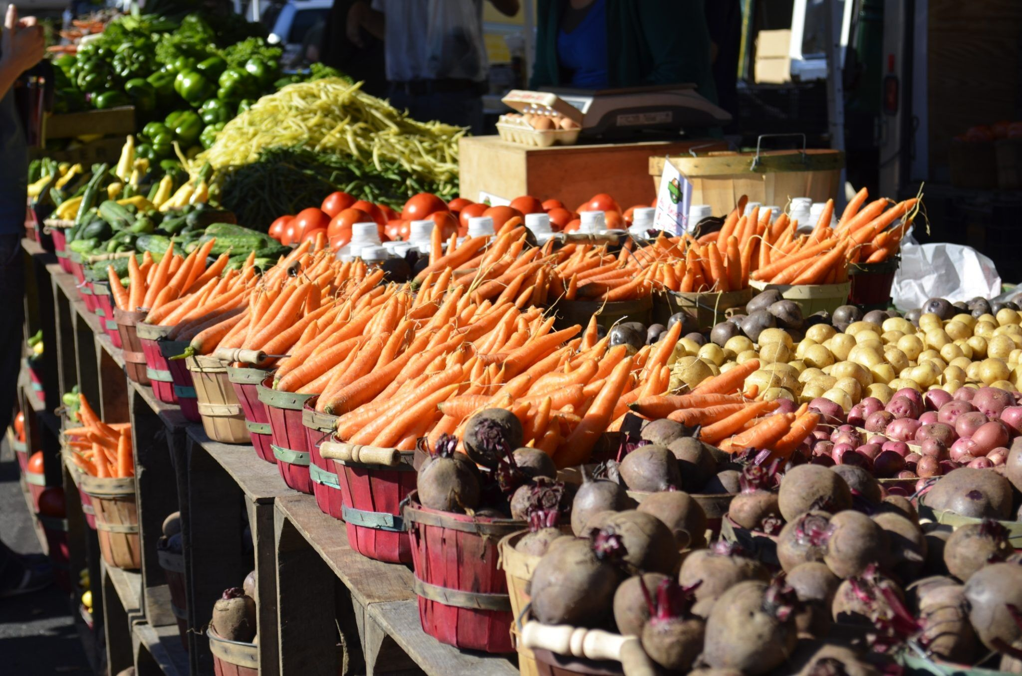 how to navigate the farmer's market