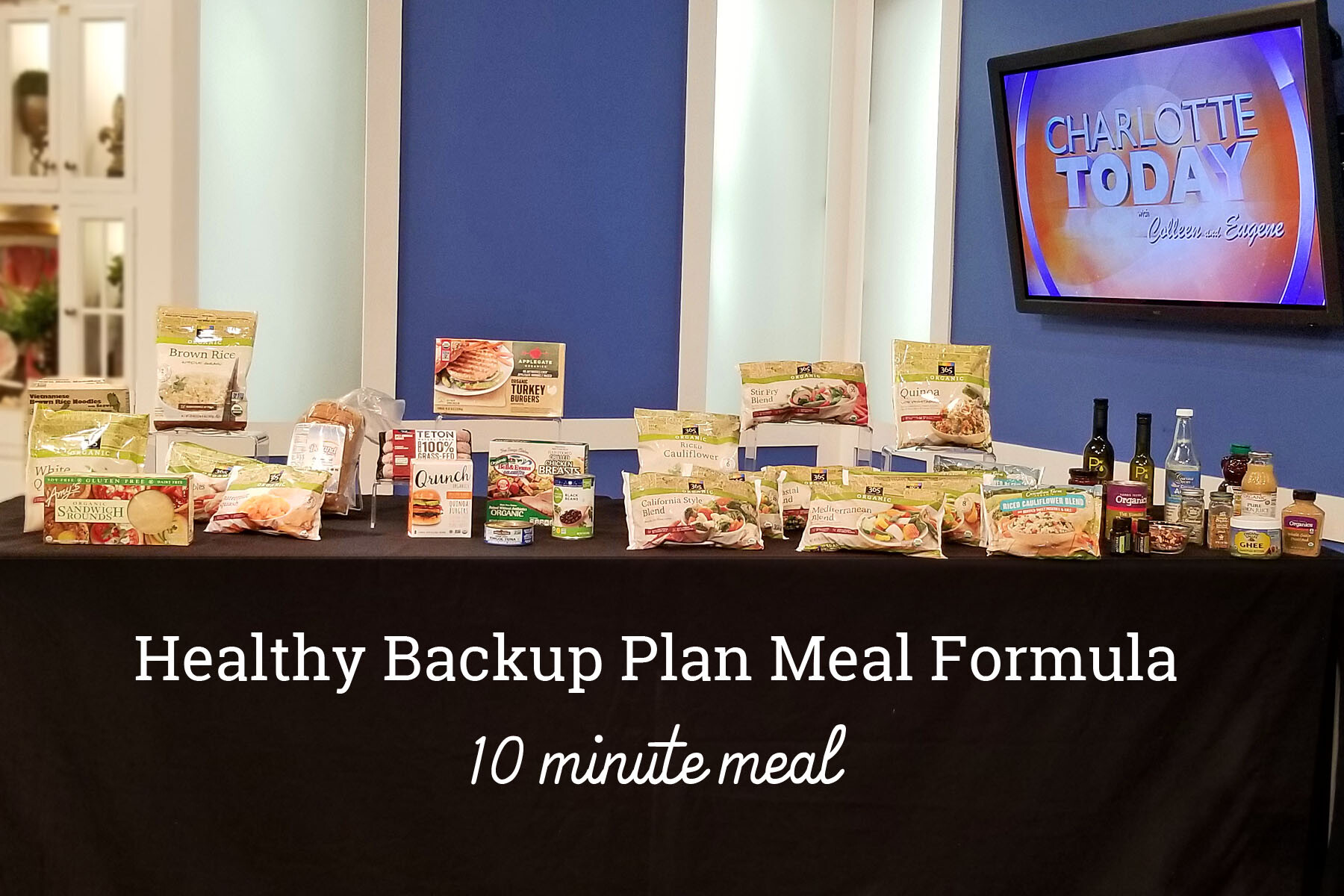 Healthy Backup Plan Meal Formula: Easy 10-Minute Weeknight Dinner