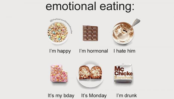Is all emotional eating harmful?