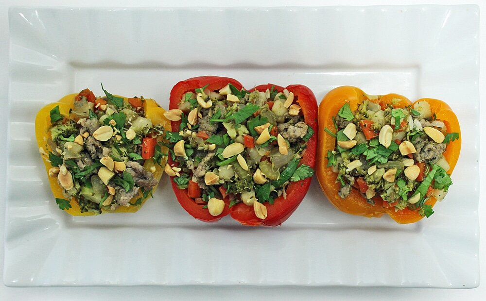 Stuffed Bell Peppers - 2 Ways (Gluten & Dairy Free)