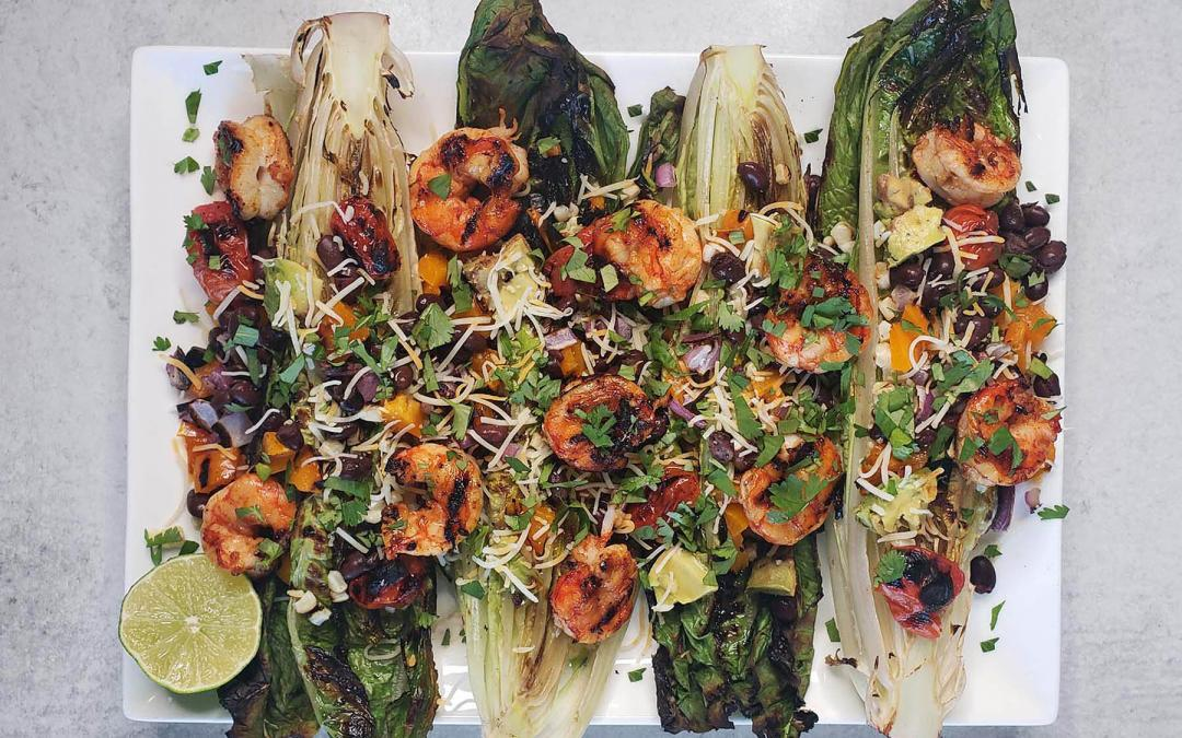 Grilled Mexican Shrimp Salad Recipe