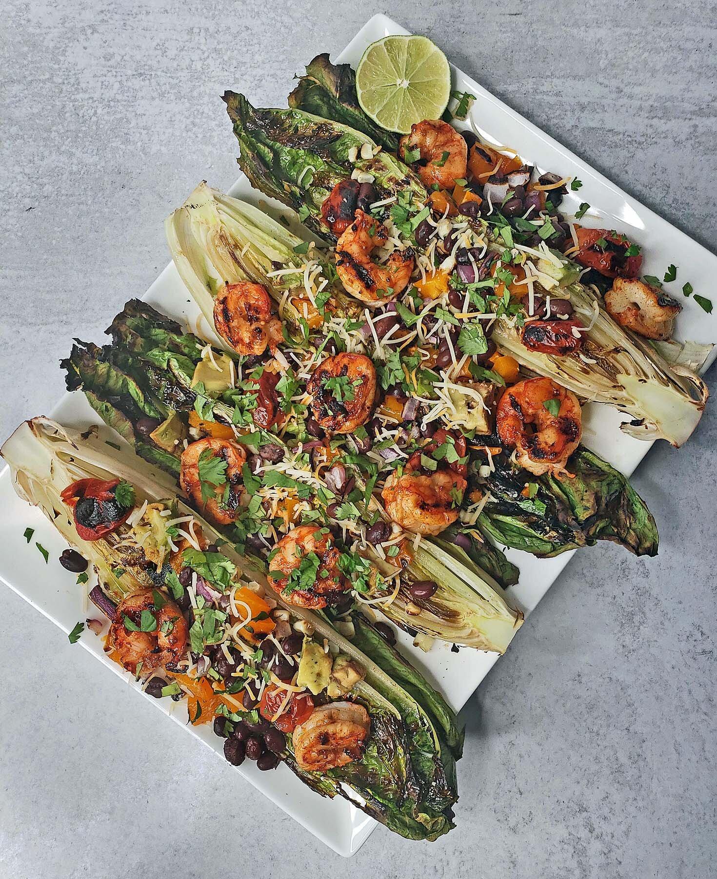 Grilled Mexican Shrimp Salad Recipe
