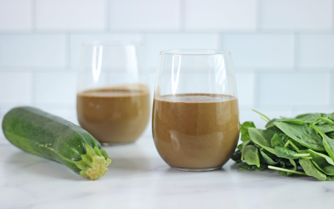 Chocolate Zucchini Smoothie Recipe