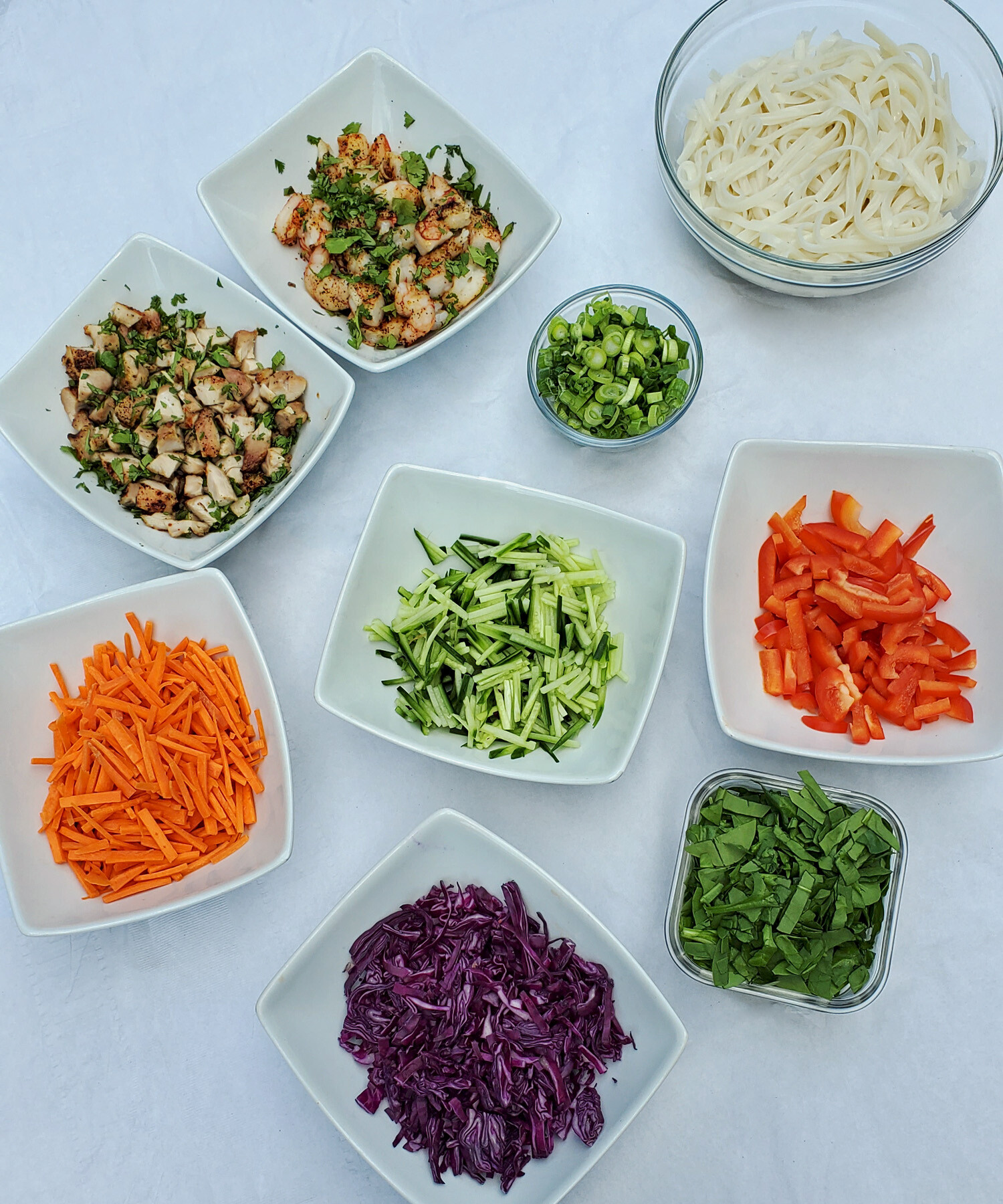 Thai Spring Roll Bowl Recipe