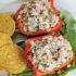 Tuna Salad Stuffed Bell Pepper Boat Recipe